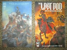 LOT 2 THE LAST GOD 1 VARIANT & REG - DC BLACK LABEL - COMBINED SHIPPING - NM+