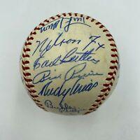 Beautiful 1959 Chicago White Sox AL Champs Team Signed Baseball JSA COA