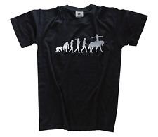 PLATA Edition Bóveda kunstreiten PASEO Caballos Evolution Camiseta S-xxxl