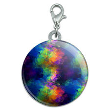 Rainbow Prism Stainless Steel Pet Dog ID Tag