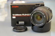Sigma zoom 18-200mm dc HSM lente para Sony a-Mount