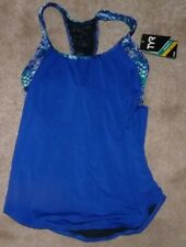 NEW TYR Women's Emerald Lake 2 in 1 Tankini Top Velvet/Turquoise M Medium 8 NWT