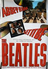 RARE THE BEATLES ABBEY ROAD LET IT BE 1988 VINTAGE ORIGINAL MUSIC PROMO POSTER
