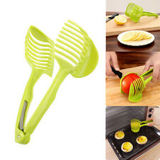 Potato Food Tomato Onion Lemon Vegetable Fruit Slicer Egg Peel Cutter Holder Hot