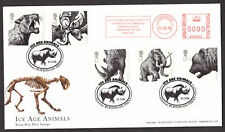 2006 ICE AGE ANIMALS SET OF 5 ON FDC WITH METER MARK
