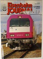 Eisenbahn JOURNAL 1/1993 Enero, VAPOR SIN wenn y Pero