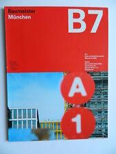Baumeister B7 7/2002  MÜNCHEN mobile Immobilie Architektur Entwerfen