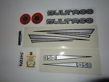 BULTACO SHERPA 250 AND 350 MOD 198 199 DECALS, STICKERS SET
