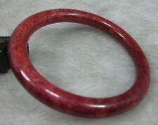 NATURE BEAUTIFUL RED JADE JADEITE BRACELET BANGLE 55MM
