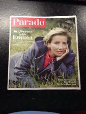 Parade Magazine Dec 15, 2013 Emma Thompson Saving Mr Banks Star Current