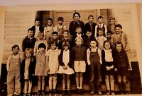 Vintage Class Photo Greenhill School East Texas 1938