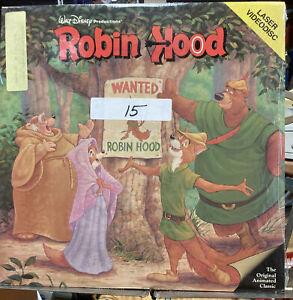 ROBIN HOOD LASER DISC WALT DISNEY BLACK DIAMOND CLASSIC HOME VIDEO EXTENDED PLAY