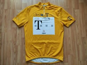 Bjarne Riis Team Deutsche Telekom 96 Tour de France Yellow jersey Size:7~XL RARE