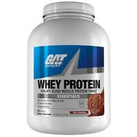 GAT Whey Isolate Blend Muscle Protein Shake - 5 lbs, 68 Servings RICH CHOCOLATE
