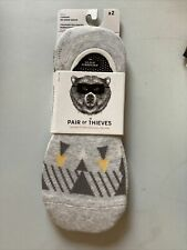 NWT Pair Of Thieves Men's No Show Cushioned Socks Size 8-12 Free Shipping