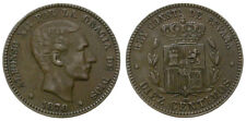ALFONSO XII. 10 CENTIMOS. 1878. BARCELONA.