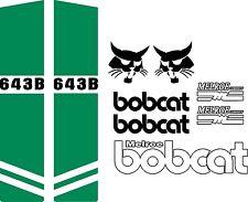 642B c repro decals / decal kit / sticker set US seller fits bobcat