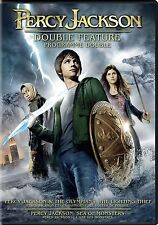 Percy Jackson & the Lightning Thief/Sea of Monsters (DVD, 2014, 2-Disc Canadian)