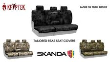 Coverking Kryptek Camo Ballistic Custom Fit Rear Seat Covers for Nissan Xterra