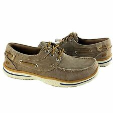 Skechers Men Lace Up Casual Shoes, Style 64866/TAN, Elected-Horizon