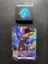 Digimon Card Game BT6-086 Eosmon SR Double Diamond Booster Box BT06 NM ENGLISH