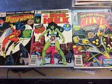 THE MAN CALLED NOVA #1 SAVAGE SHE-HULK 1 SPIDER-WOMAN 1 KEY LOT!!