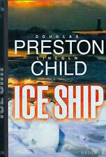 Preston / Child -  ICE SHIP Mystery Action Abenteuer HC