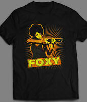 VINTAGE PAM GRIER FOXY BROWN *OLDSKOOL * QUALITY SHIRT *FULL FRONT*