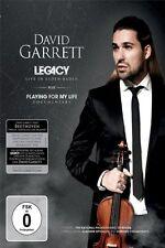 DAVID GARRETT - LEGACY-LIVE IN BADEN BADEN  DVD NEU