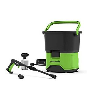 Greenworks Tools 5104607 GDC60 DC Cordless Pressure Washer, 60 V, Green