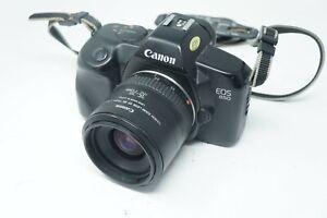 Canon EOS 850 SLR FILM CAMERA w/ Canon EF 35-70mm F/3.5-4.5 AF Lens WORKING