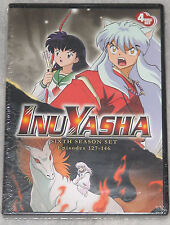 InuYasha - Complete Season Series Six 6 - DVD Box Set - NEW & SEALED Inu Yasha