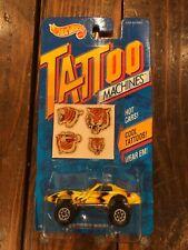 Hot Wheels Tattoo Machines Tiger Street Beast NIB