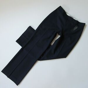 NWT Banana Republic Jackson Fit Trouser in Navy Blue Stretch Wool Pants 2 x 32 ½