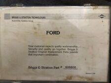 Briggs Stratton 608800 Ford 67 92 Lock 5 Cuttumbler Pinning Kit Dealer Locksmith