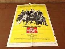 1970 The Sicilian Clan Original Movie House Full Sheet Poster