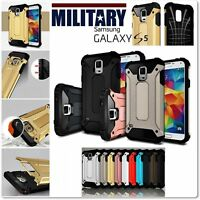 Etui Coque housse Military Design Armor Case Cover Samsung Galaxy S5 S5 New Neo