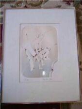 Modern Abstract Art Signed Vintage E A Zailin Legs in circle B41