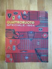 QUATTRORUOTE Speciale 1964 Alfa Romeo Giulia Sprint GT Lancia Fulvia Flaminia