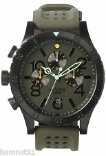 Authentic Men's Nixon 48-20 Chronograph Grand Surplus Watch. NIB, RRP $499.95.