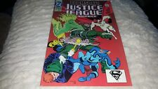 JUSTICE LEAGUE #69 1992 VF+/NM..1ST. DOOMSDAY!!!...DEATH OF SUPERMAN!!
