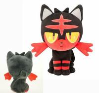 8inch Pokemon Sun Moon Plush Toy Litten Stuffed Doll Soft Toys Xmas Gift 20CM