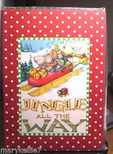 Mary Engelbreit 80 Page Journal Jingle All The Way Or 3 Blind Mice