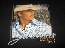 """2002 Alan Jackson """"Drive"""" Tour Concert (Lg) T-Shirt"""