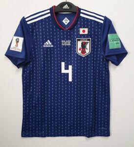2018 JAPAN Home S/S No.4 HONDA 18 WorldCup Match Senegal jersey shirt trikot