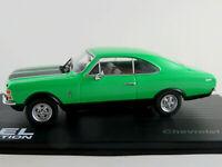 IXO #55 Chevrolet Opala Coupé (1968-1969) in hellgrün 1:43 NEU/PC-Vitrine
