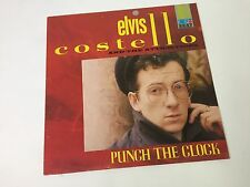 Elvis Costello - Punch The Clock - Vinyl LP, F-Beat 1st Press 1983, VG+/EX