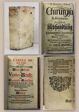 Sammelband Medizin Chirurgia Rationalis 1708 Waag-Schale der Venus-Seuche 1732