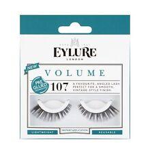 Eylure False Eyelashes - VOLUME Pre-Glued 107 - Genuine Eylure False Lashes!