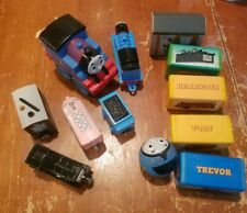 Lot of 6 Thomas & Friends Train Engines and Cars plus Blocks